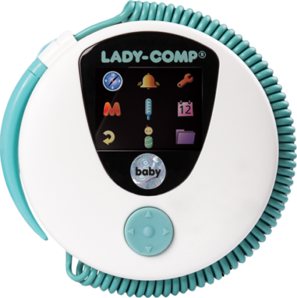 Komputer cyklu Lady-Comp baby
